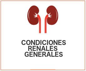 condiciones renales