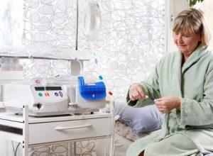 dialisis peritoneal en casa automatizada